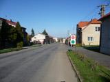 Jedeme směrem od Plzně